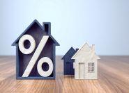 Odsetki od kredytów mieszkaniowych niższe o 33 proc.