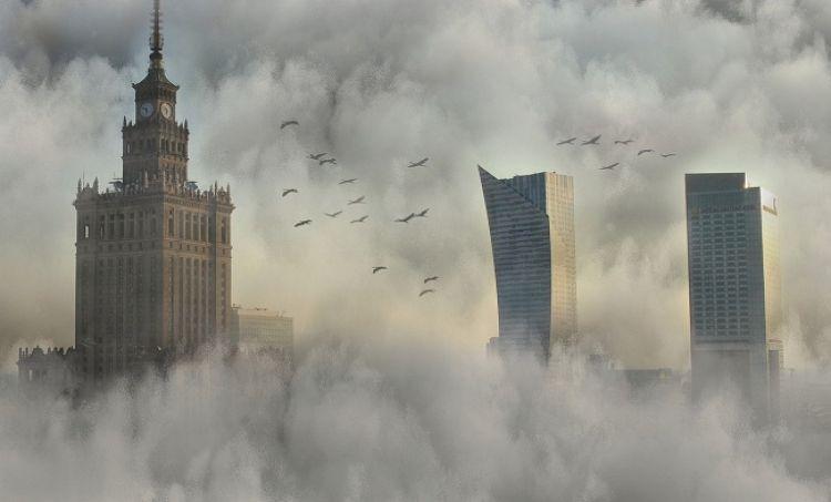 Warszawskie wodne murale w walce o czyste powietrze