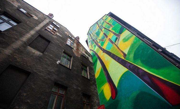 Mural w Bielsku-Białej oczyści powietrze