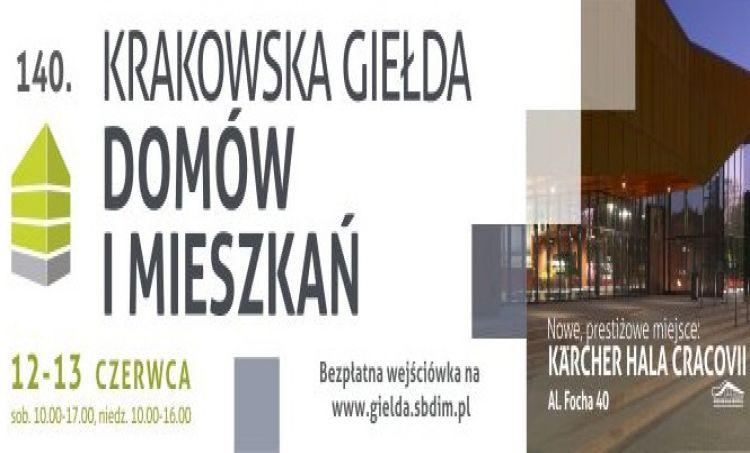 Nowa lokalizacja Krakowskiej Giełdy Domów i Mieszkań