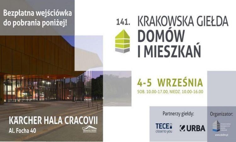 141. Krakowska Giełda Domów i Mieszkań w nowej lokalizacji