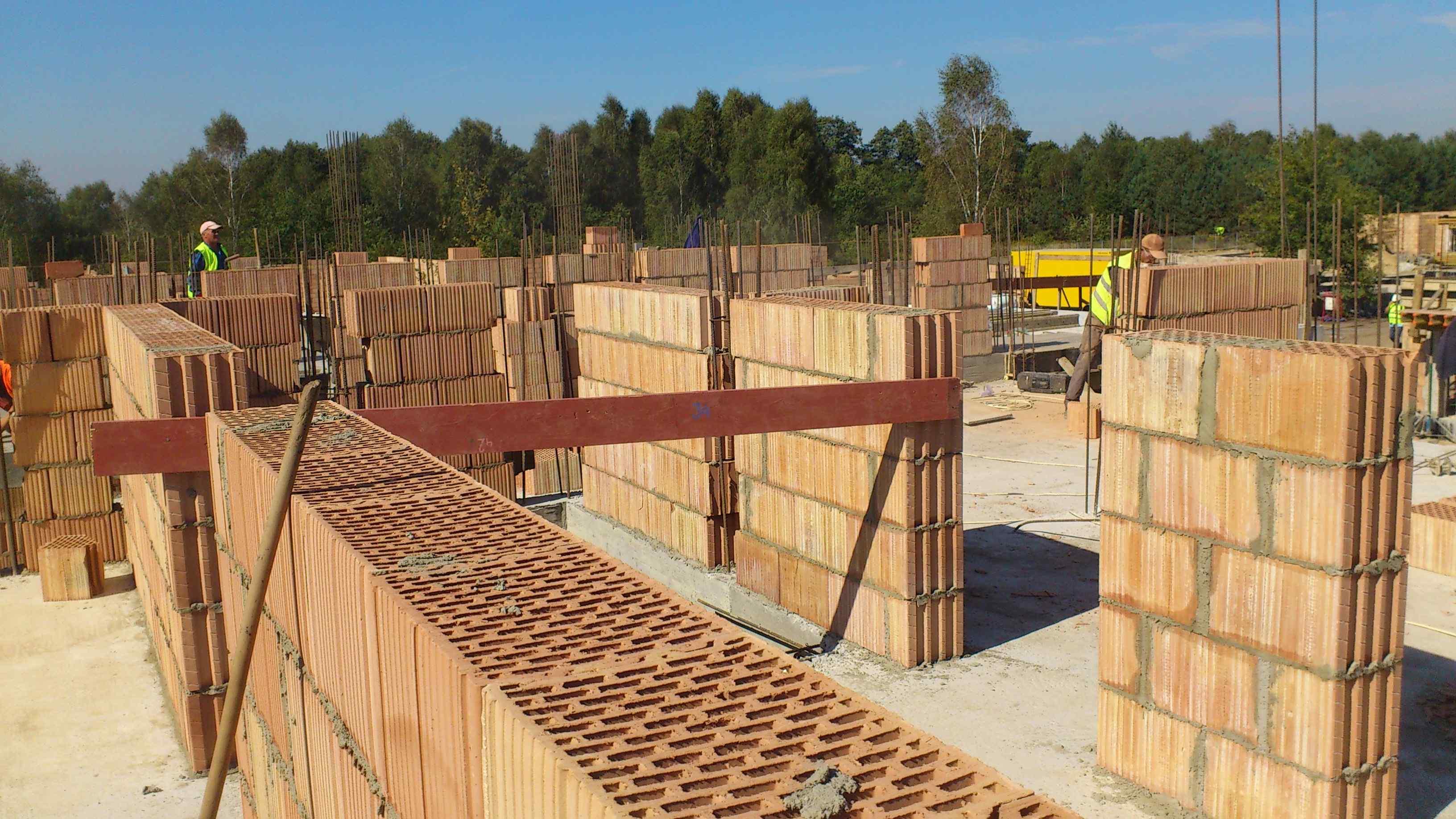 Postępy na placu budowy osiedla Siedem Klonów