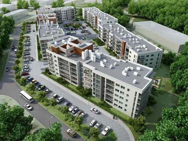 W 2015 r. kolejny budynek na osiedlu Reduta Nowe Podolany