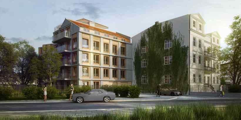 Kossak Residence - apartamenty w sercu Krakowa