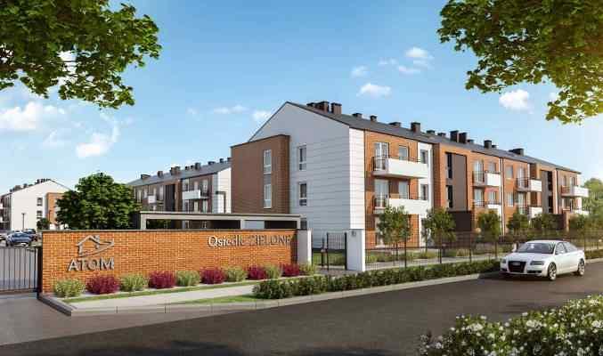Osiedle ZIELONE- mieszkania w pobliżu Wrocławia