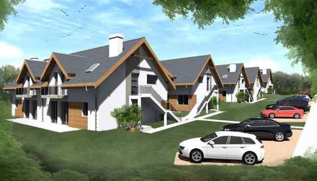 Osiedle Tęczowe - osiedle domów jednorodzinnych