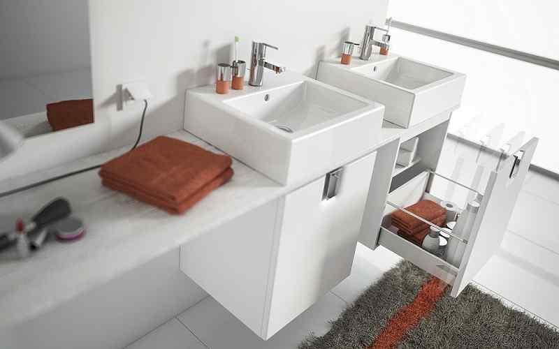 9 pomysłów na biel w łazience