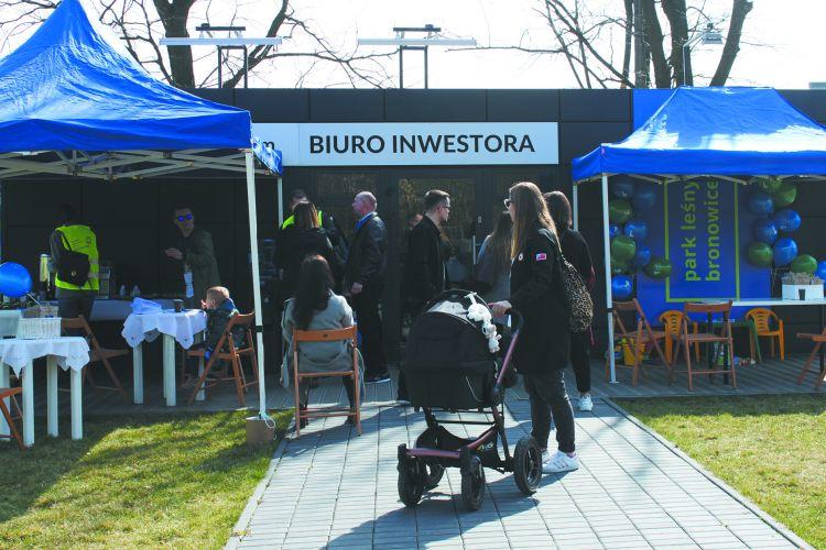 Dni otwarte inwestycji Park Leśny Bronowice w Krakowie
