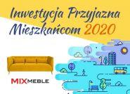 Konkurs Inwestycja Przyjazna Mieszkańcom 2020 został rozstrzygnięty