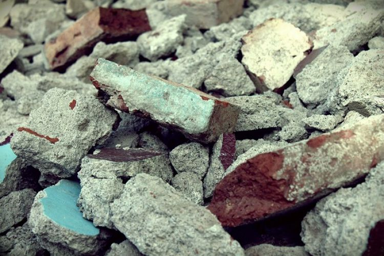 Odpady budowlane i rozbiórkowe stanowią one ok. 30 proc. wszystkich śmieci wytwarzanych w UE.