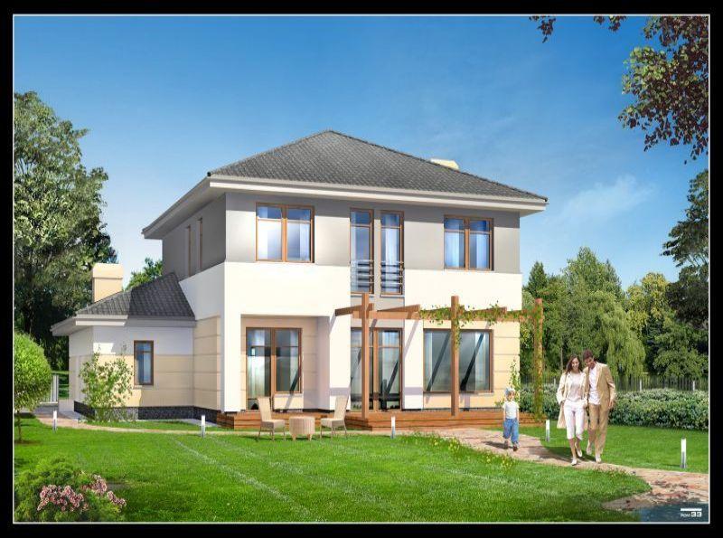 Nowy dom Baszkówka 161.33m2, dom na sprzedaż