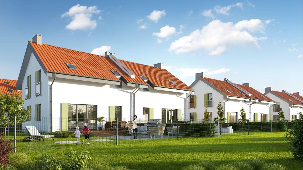 Nowy dom Sidzina 100.40m2, dom na sprzedaż