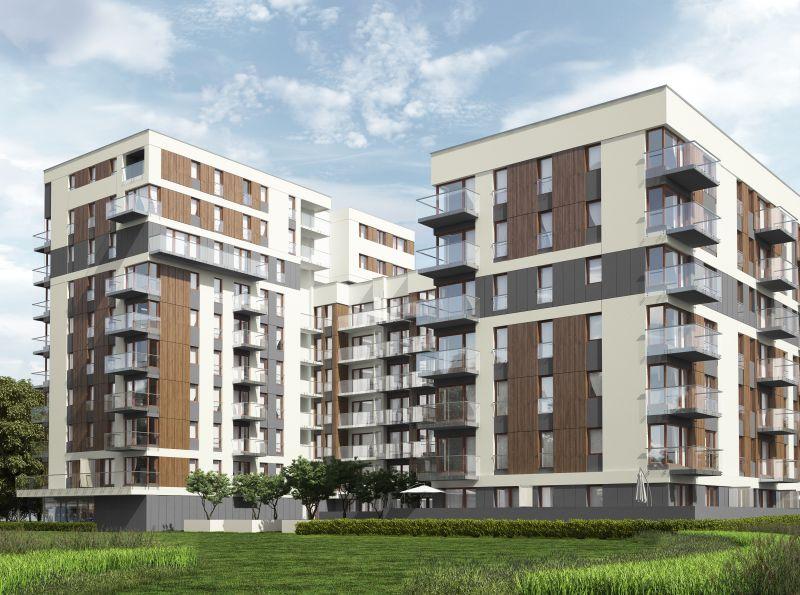 Nowe mieszkanie Kraków 72.59m2, mieszkanie na sprzedaż