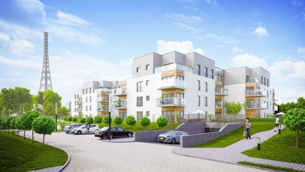 Nowe mieszkanie Gliwice 57.41m2, mieszkanie na sprzedaż