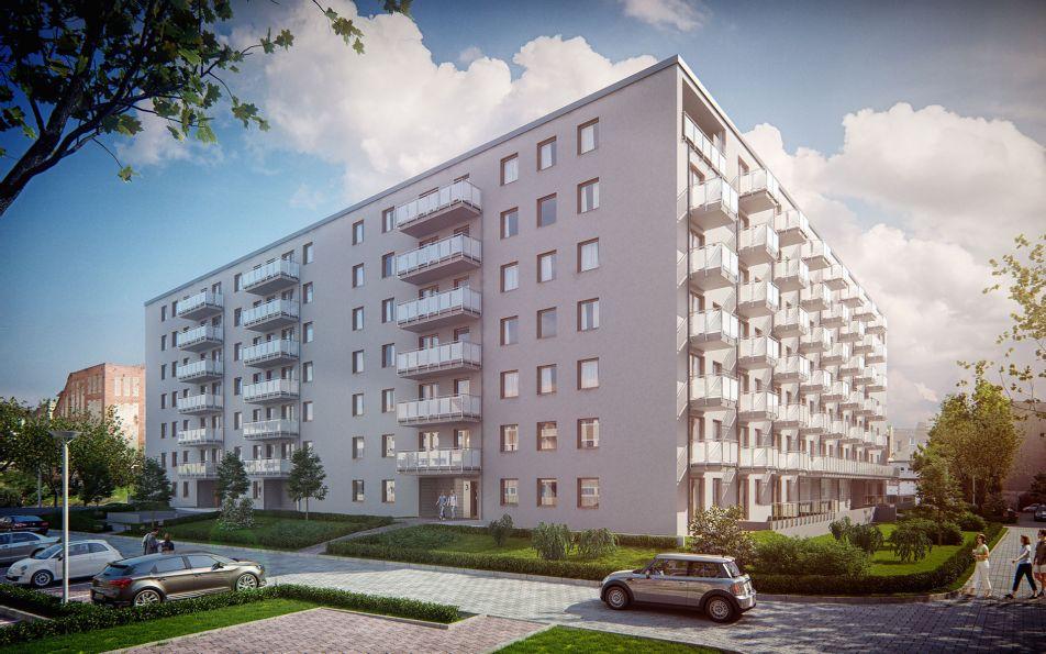 Nowe mieszkanie Wrocław 61.40m2, mieszkanie na sprzedaż