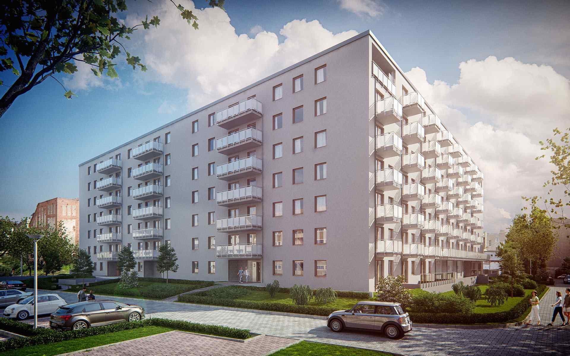 Nowe mieszkanie Wrocław 61.07m2, mieszkanie na sprzedaż