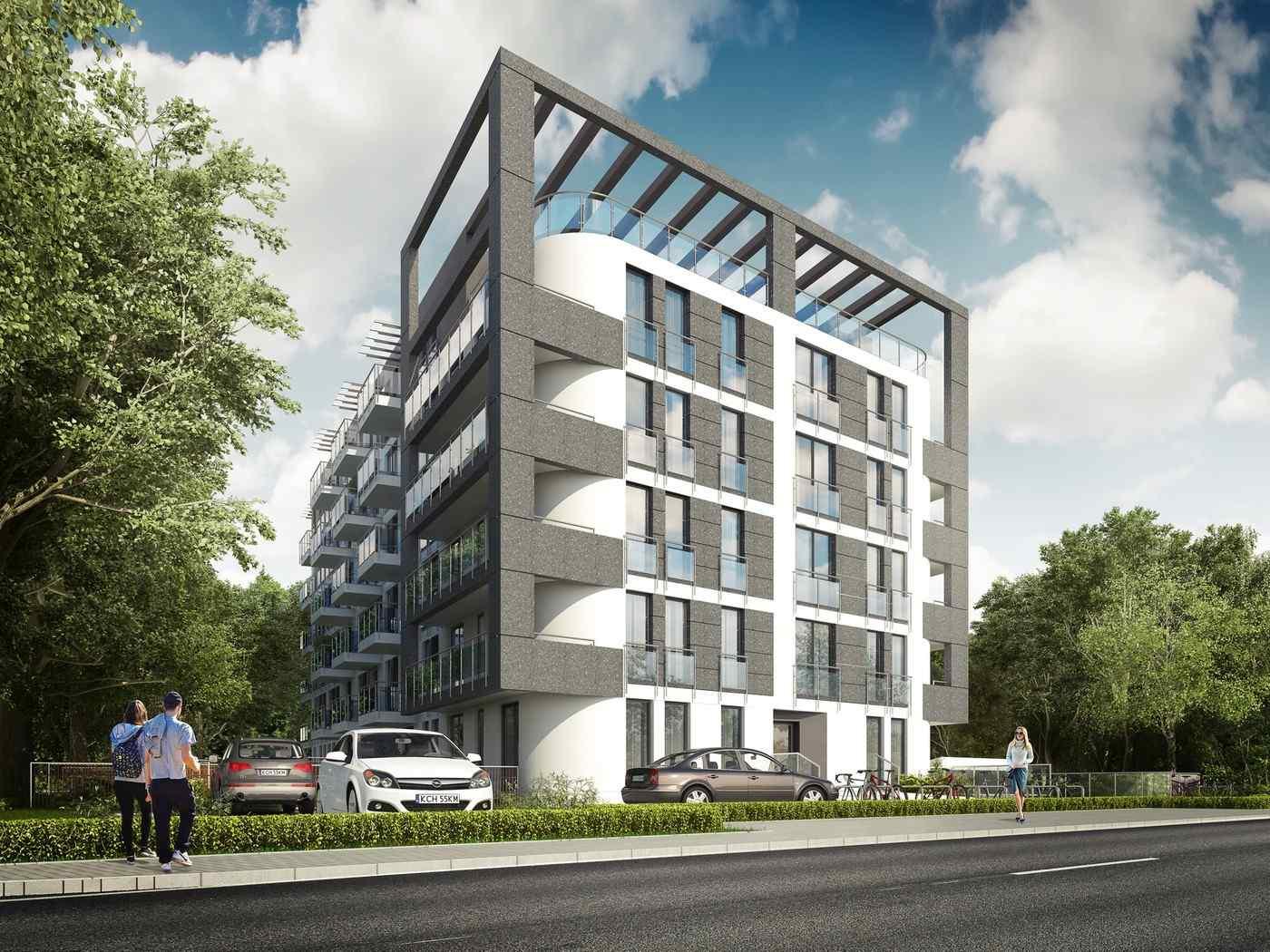 Nowe mieszkanie Kraków 55.96m2, mieszkanie na sprzedaż