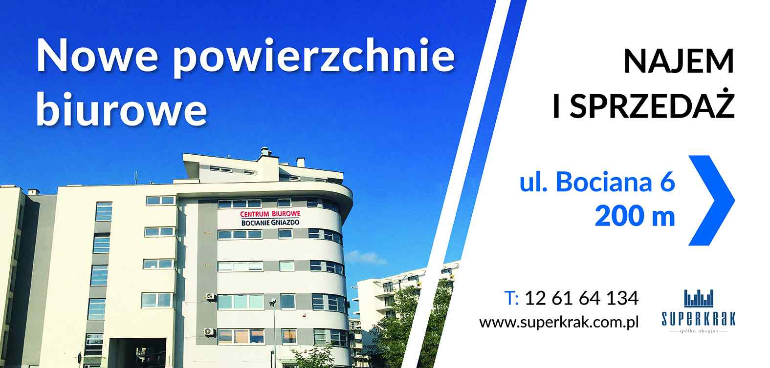 Biurowiec ul. Bociana 6