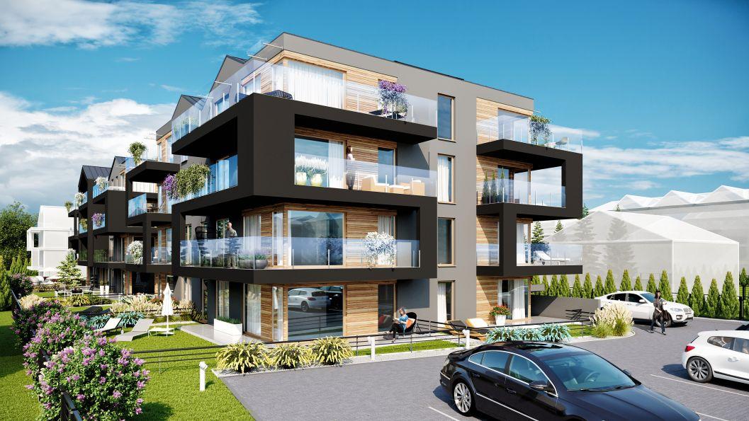 Nowe mieszkanie Kraków 47.49m2, mieszkanie na sprzedaż