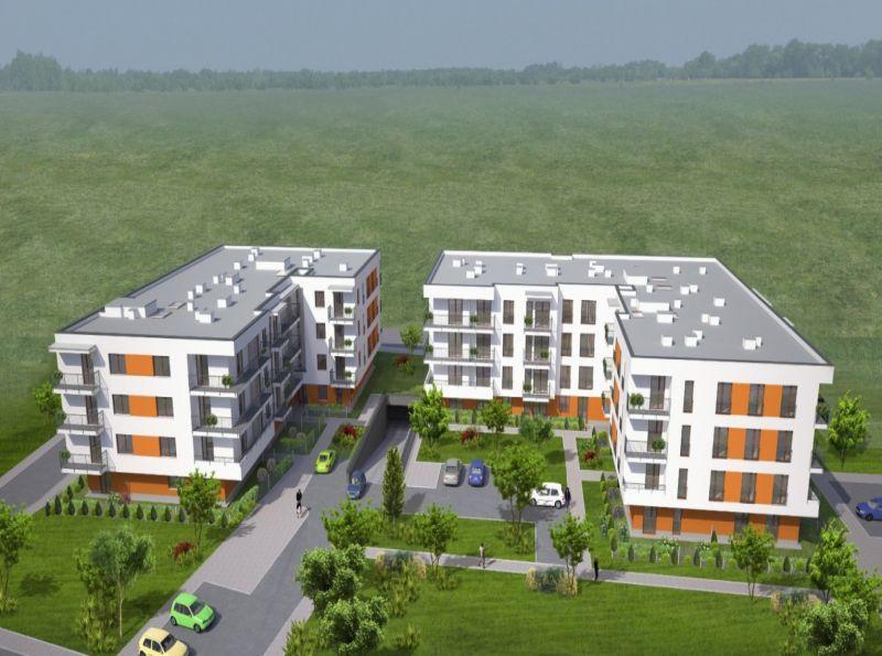 Nowe mieszkanie Kraków 47.67m2, mieszkanie na sprzedaż