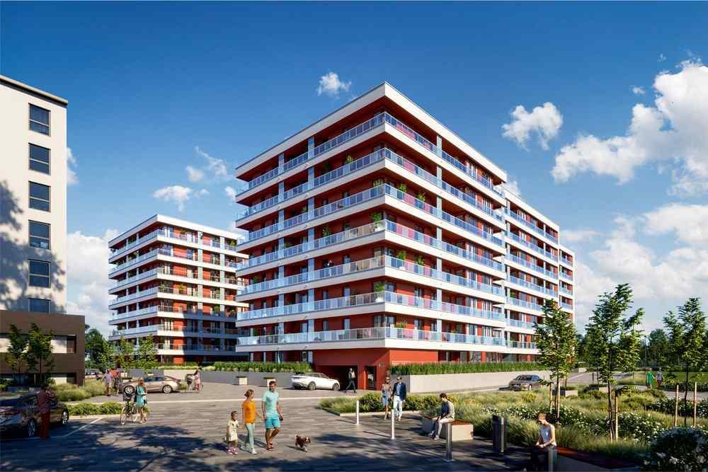 Nowe mieszkanie Kraków 67.13m2, mieszkanie na sprzedaż