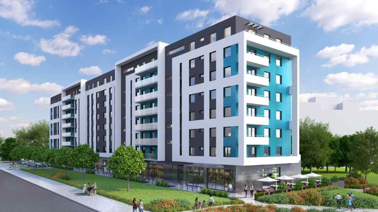 Nowe mieszkanie Wrocław 44.92m2, mieszkanie na sprzedaż