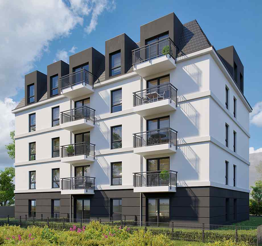 Nowe mieszkanie Wrocław 47.68m2, mieszkanie na sprzedaż