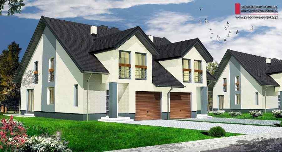 Nowy dom Rząska 149.86m2, dom na sprzedaż