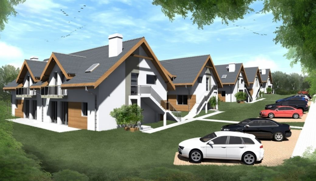 Nowy dom Giebułtów 71.00m2, dom na sprzedaż