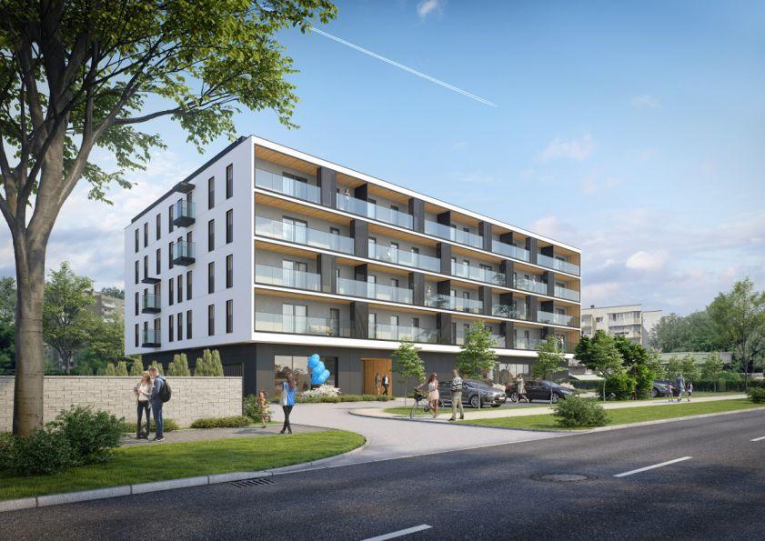 Nowe mieszkanie Kraków 56.97m2, mieszkanie na sprzedaż