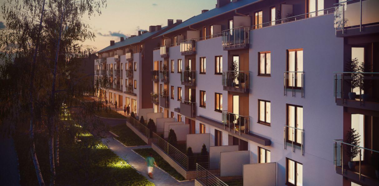 Nowe mieszkanie Kraków 56.03m2, mieszkanie na sprzedaż