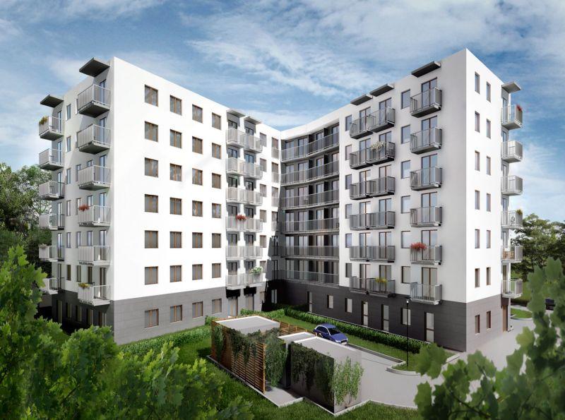 Nowe mieszkanie Kraków 60.05m2, mieszkanie na sprzedaż