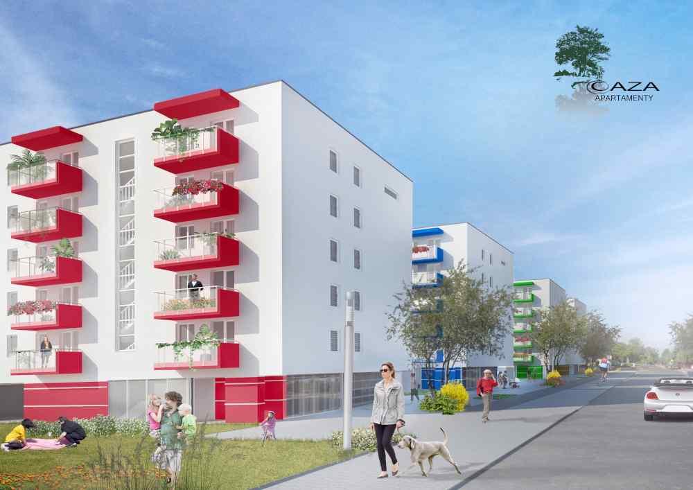 Enklawa Prądnika Etap III- ul. Marchołta 32 Apartamenty OAZA bud. D i F
