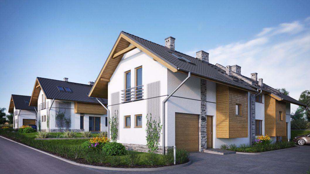 Nowy dom Bibice 118.55m2, dom na sprzedaż