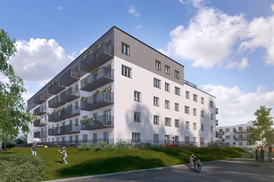 Nowe mieszkanie Wrocław 61.37m2, mieszkanie na sprzedaż