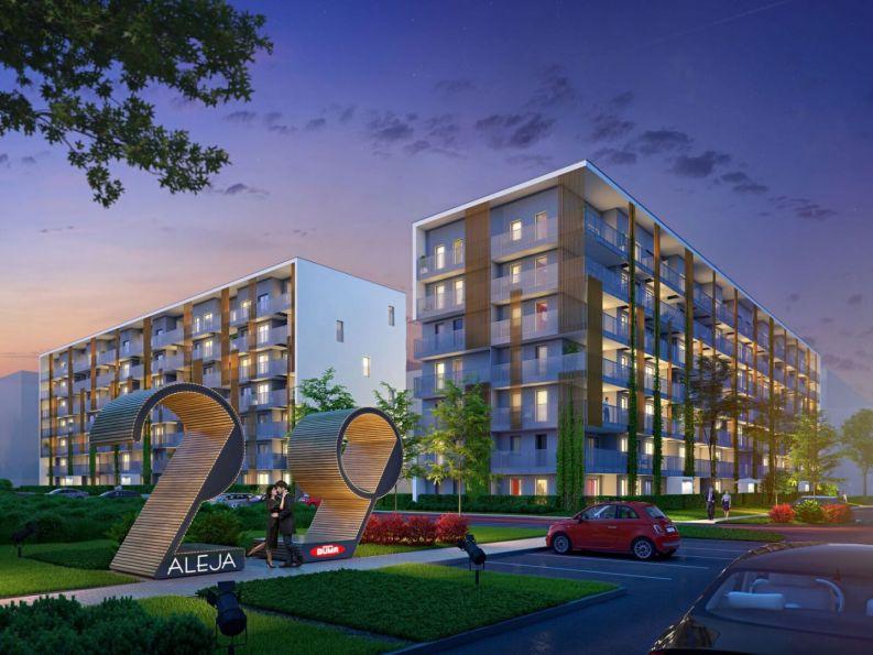 Nowe mieszkanie Kraków 62.86m2, mieszkanie na sprzedaż