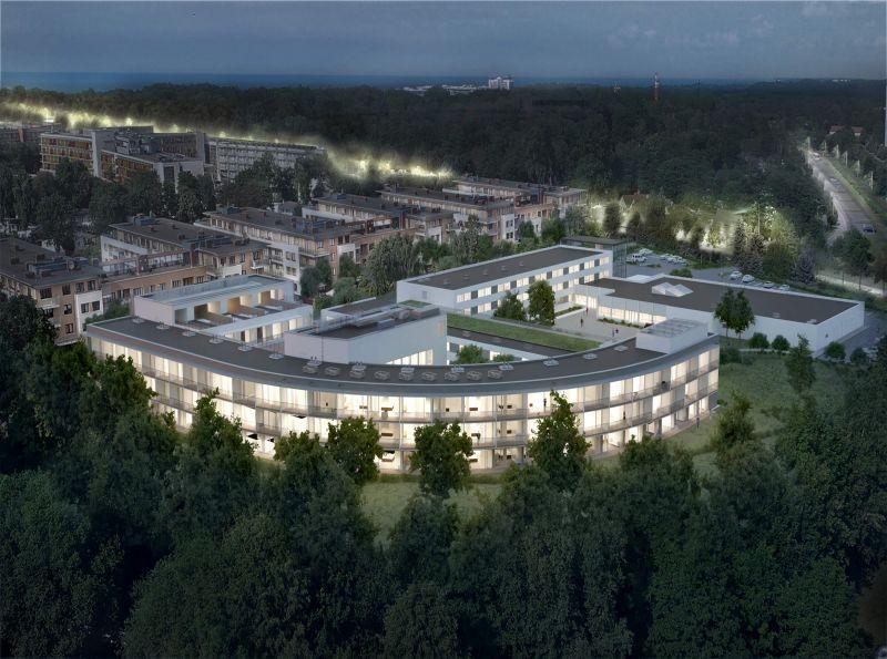 Nowe mieszkanie Kołobrzeg 30.69m2, apartamenty na sprzedaż