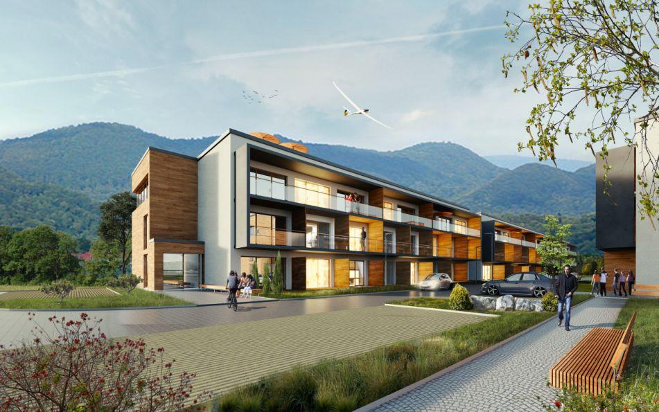 Nowe mieszkanie Polańczyk 24.94m2, apartamenty na sprzedaż