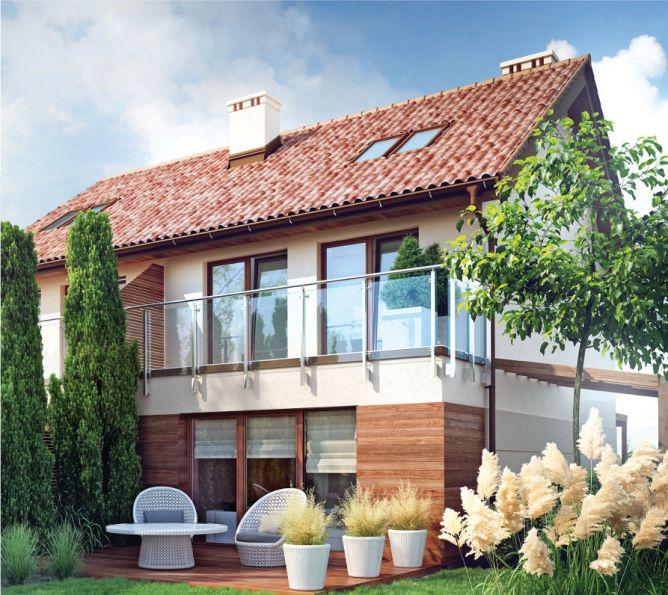 Nowy dom Zielonki 124.34m2, dom na sprzedaż