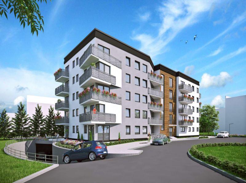 Nowe mieszkanie Krzeszowice 61.59m2, mieszkanie na sprzedaż