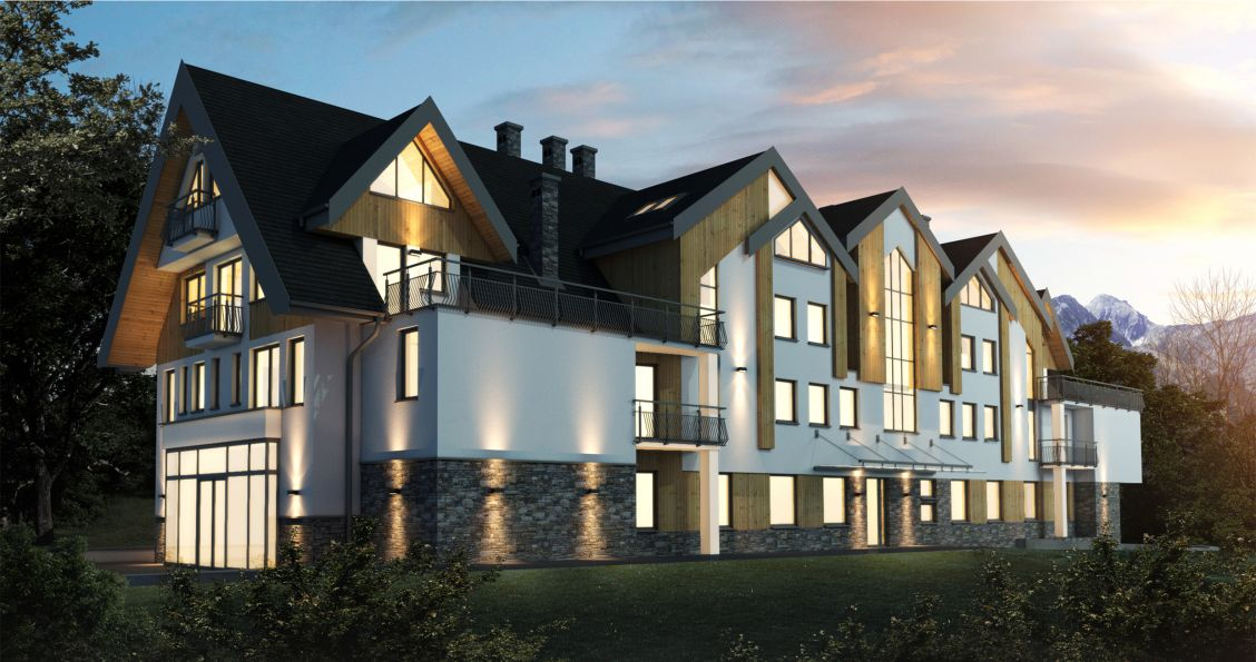 Nowe mieszkanie Zakopane 39.81m2, apartamenty
