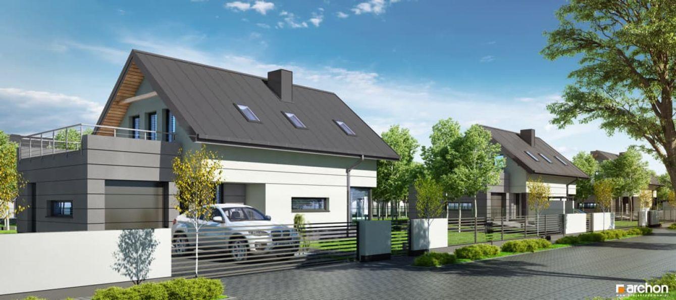 Nowy dom Mników 138.60m2, dom na sprzedaż