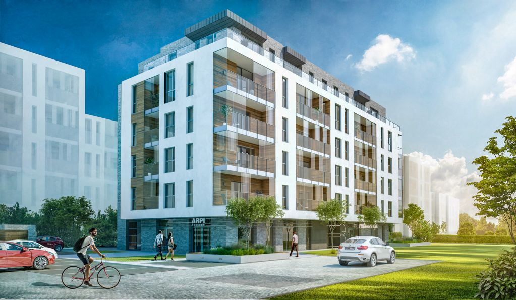 Nowe mieszkanie Gdańsk 30.79m2, mieszkanie na sprzedaż