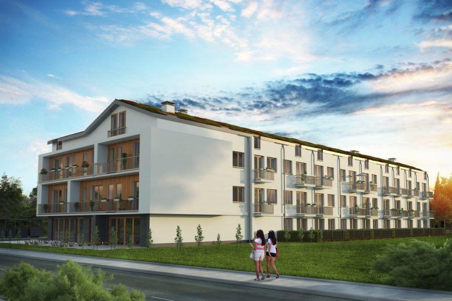 Nowe mieszkanie Kraków 39.49m2, mieszkanie na sprzedaż