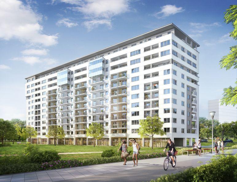 Nowe mieszkanie Kraków 44.87m2, mieszkanie na sprzedaż