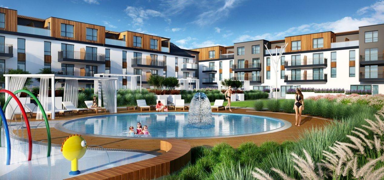 Nowe mieszkanie Międzyzdroje 40.77m2, apartamenty na sprzedaż