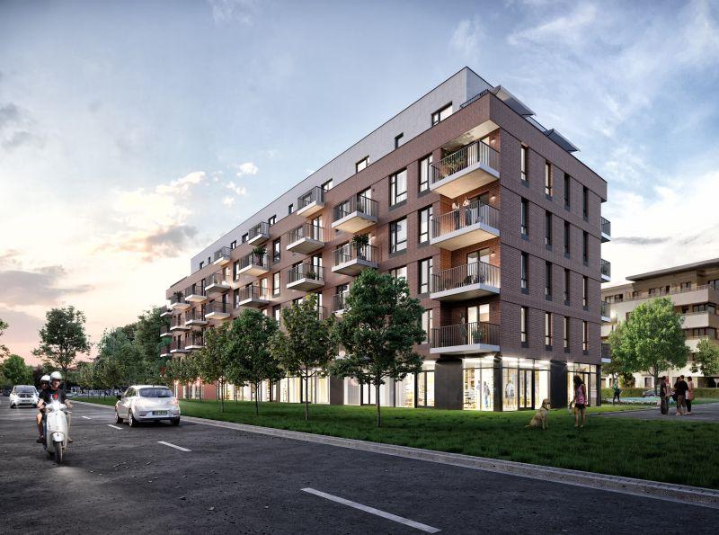 Nowe mieszkanie Kraków 54.55m2, mieszkanie na sprzedaż