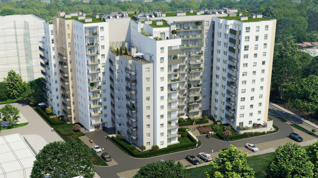 Nowe mieszkanie Kraków 56.67m2, mieszkanie na sprzedaż