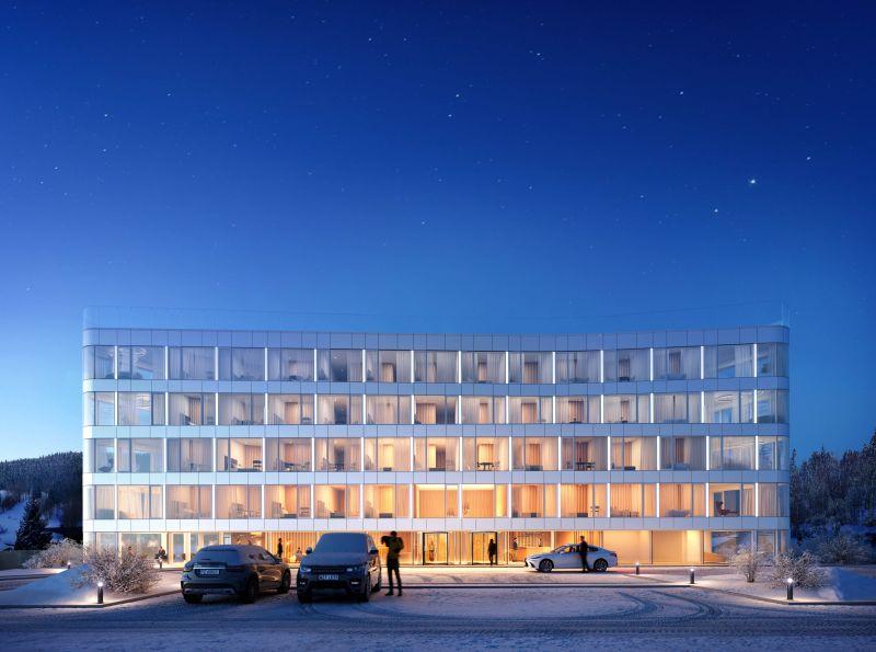 Nowe mieszkanie Sienna 20.07m2, apartamenty na sprzedaż