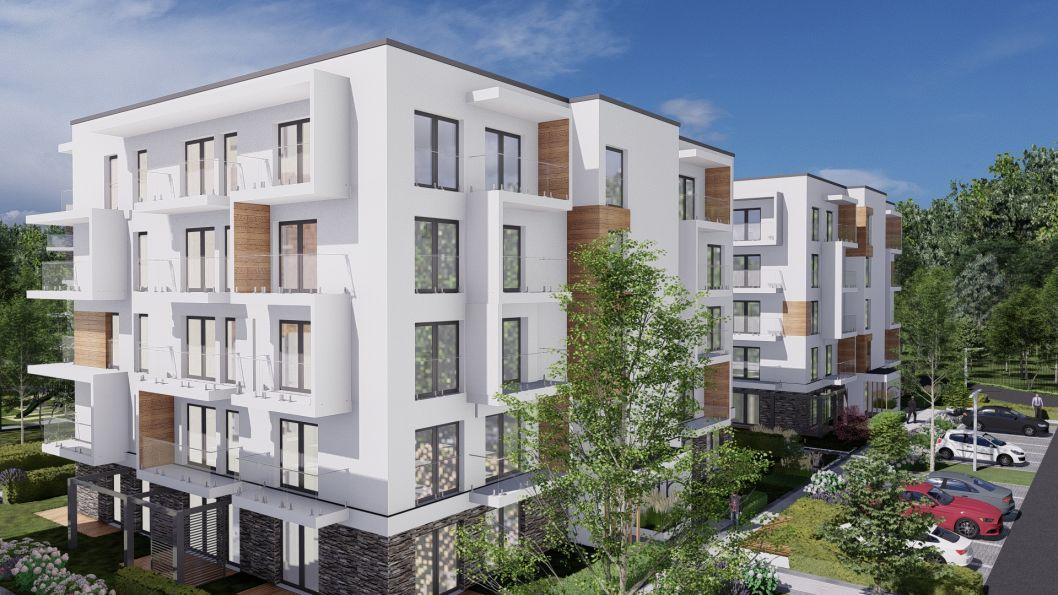 Nowe mieszkanie Wieliczka 51.97m2, mieszkanie na sprzedaż